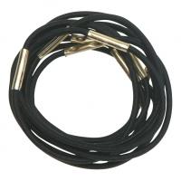 RE024 Деваль Резинки для волос черные midi (10шт)