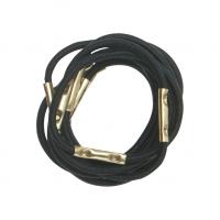 Парикмахерские аксессуары RE027 Деваль Резинки для волос черные mini (10шт)