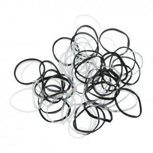 Силиконовые резинки для волос диам 10-45 мм Dewal