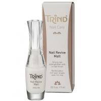 Средства по уходу за ногтями и руками TRIND Укрепитель для ногтей без формальдегида матовый 9мл Nail Reviv Matt