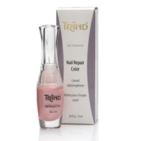 Средства по уходу за ногтями и руками TRIND Укрепитель для ногтей без формальдегида розовый перламутр 9мл Nail Revive Pink Pearl