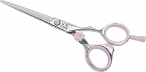 Ножницы прямые 5.5 TAYO Duet с Розой